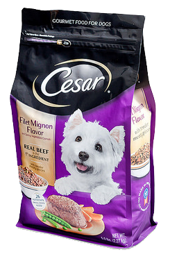 Cesar Gourmet Food for Dogs