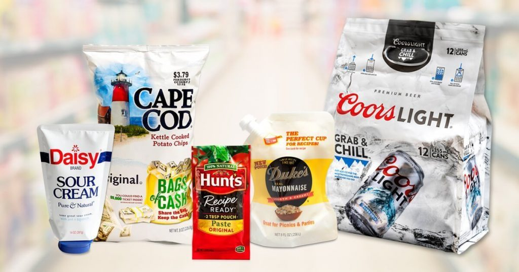 Collection of flexible packaging